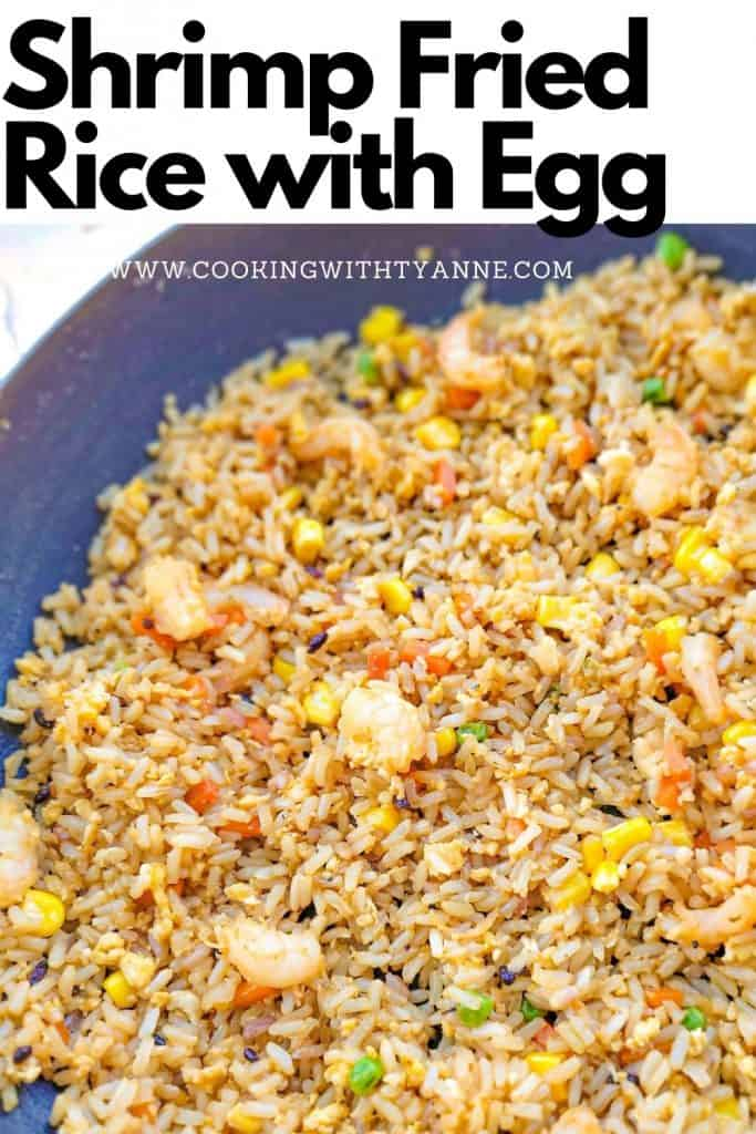 Shrimp Fried Rice with Egg Pin