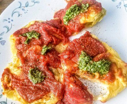 Spinach and Artichoke Ravioli Filling Without Ricotta