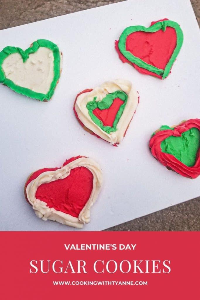 Valentine's Day Sugar Cookies Pin