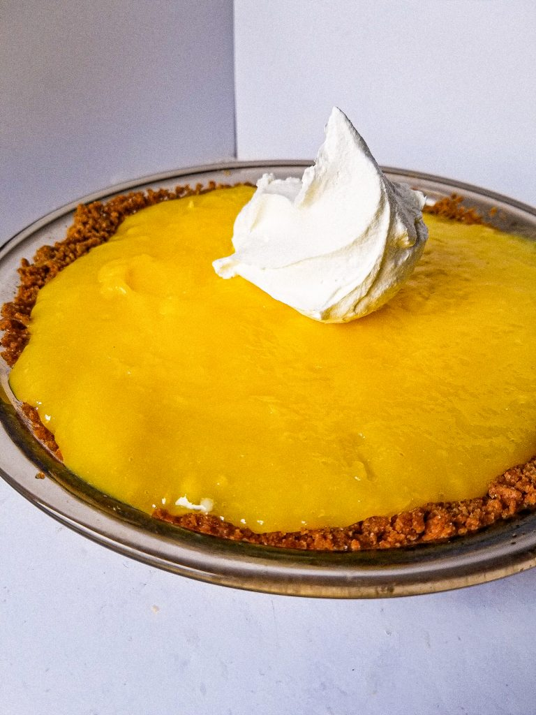 easy lemon pudding pie