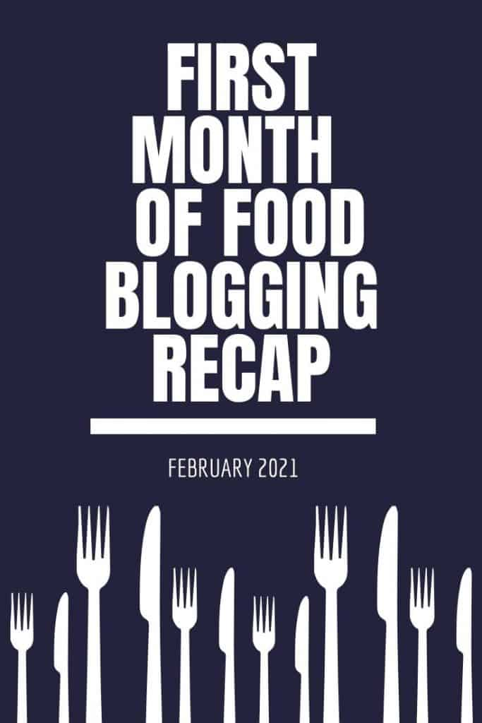 first month of blogging image
