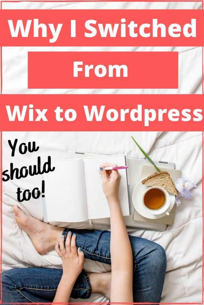 wix to wordpress pin
