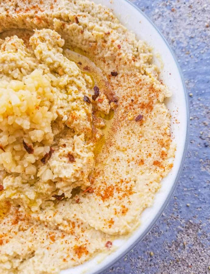Garlic Hummus Recipe